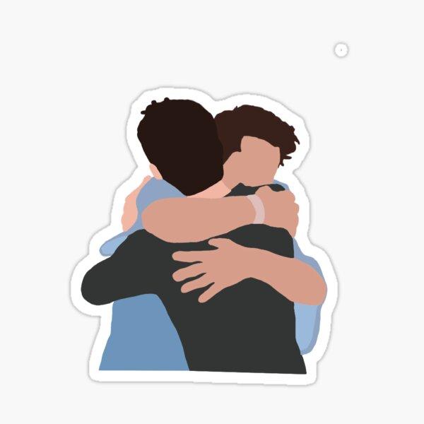 Sciles hug  Sticker