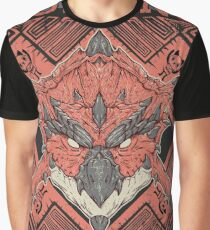 Hunting Club: Rathalos Graphic T-Shirt