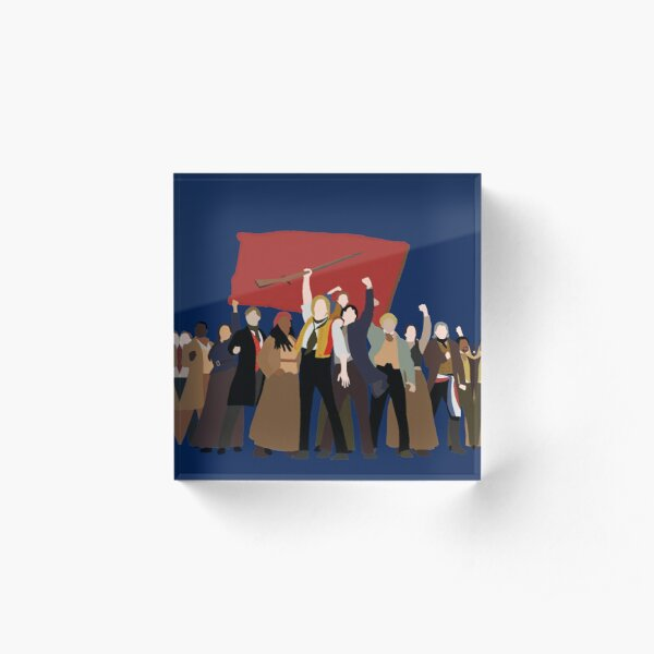 Les Mis: One Day More Acrylic Block