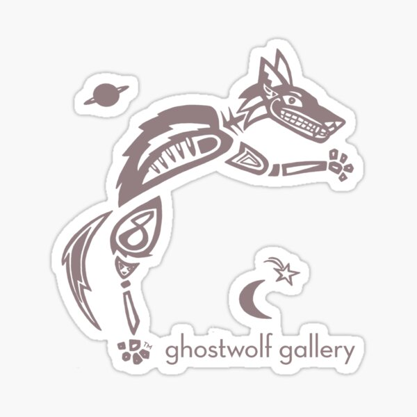 Ghostwolf Swag Sticker