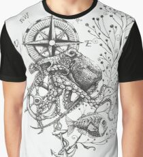 Octopus's garden Graphic T-Shirt