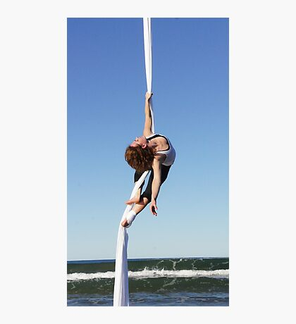 Aerial Tissu at the Trapeze Beach Camp Photographic Print