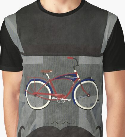 Bicycle Head Graphic T-Shirt