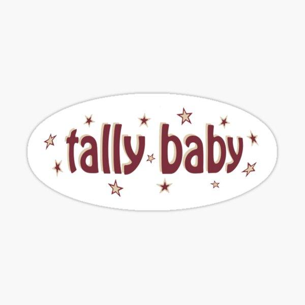 FSU Tally Baby Sticker