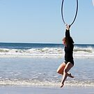 Aerial Hoop Trapeze Beach Camp by Dancing in the Air ®