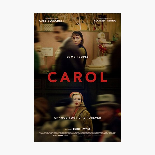 Carol (2015) Photographic Print