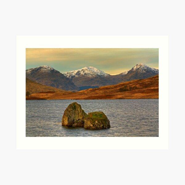 Arklet Rocks (2) Art Print