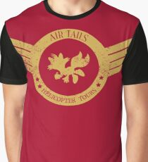 Air Tails Helicopter Tours Graphic T-Shirt