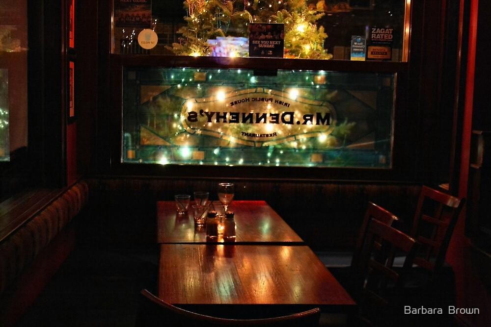 Village Pub by Barbara  Brown