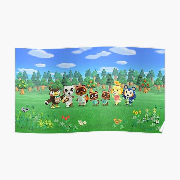 Original Animal Crossing Mug Poster