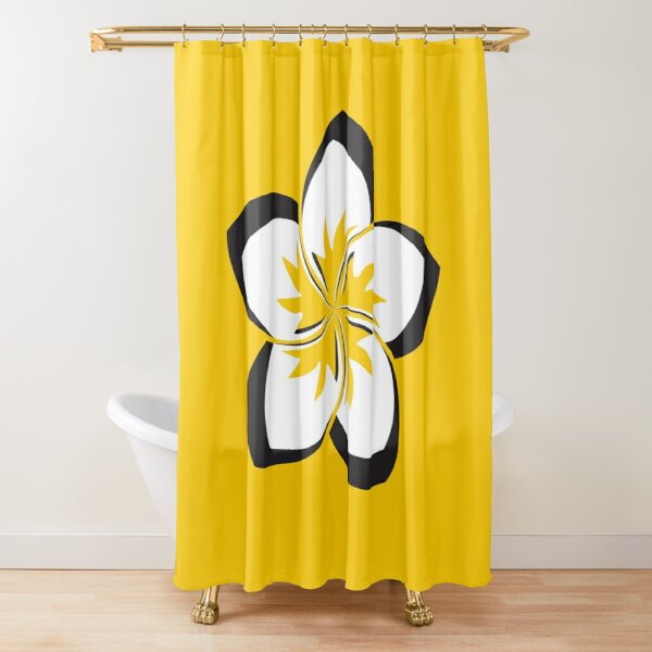 McMillan St Dojo - Power Flower Shower Curtain