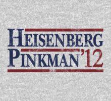 Heisenberg Pinkman 2012