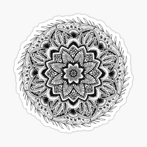 Floral Mandala Sticker