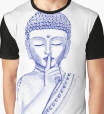 Shh ... do not disturb - Buddha  Graphic T-Shirt