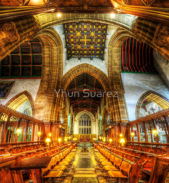 Leicester Cathedral - Quire by Yhun Suarez