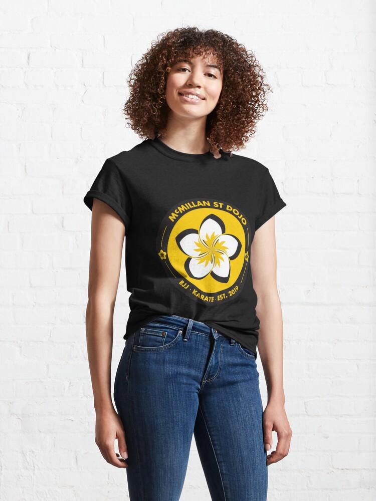 Alternate view of McMillan St Dojo - Logo Classic T-Shirt