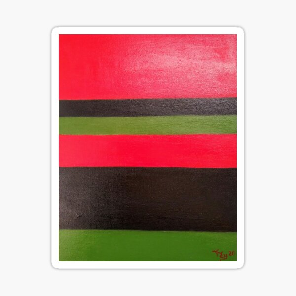 11.  Abstract  by Kenneth Key  Sticker