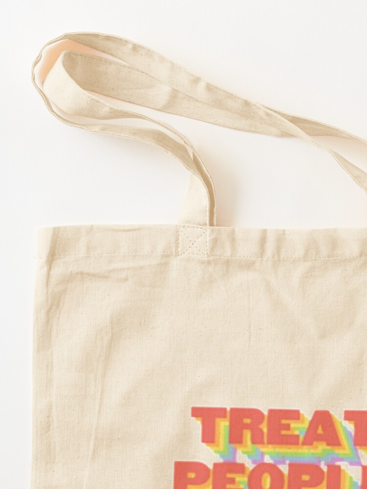 Alternate view of TREAT PEOPLE WITH KINDNESS (HARRY STYLES) Tote Bag