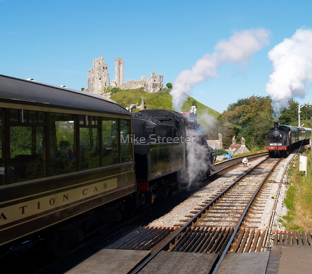 Passing at Corfe by Mike Streeter