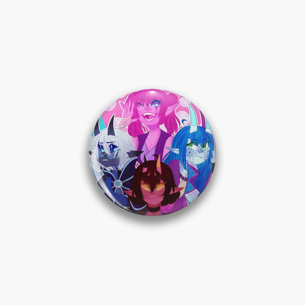 Tieflings [Dungeons and Dragons] Pin