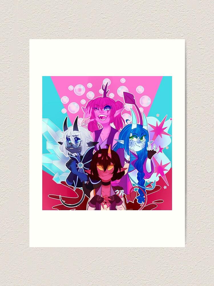 Alternate view of Tieflings [Dungeons and Dragons] Art Print