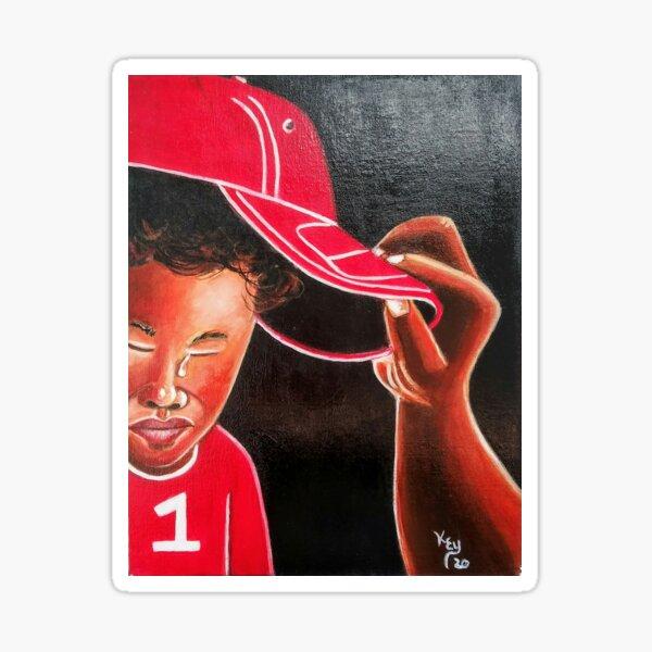 15. Boy in Red Cap by Kenneth Key  Sticker