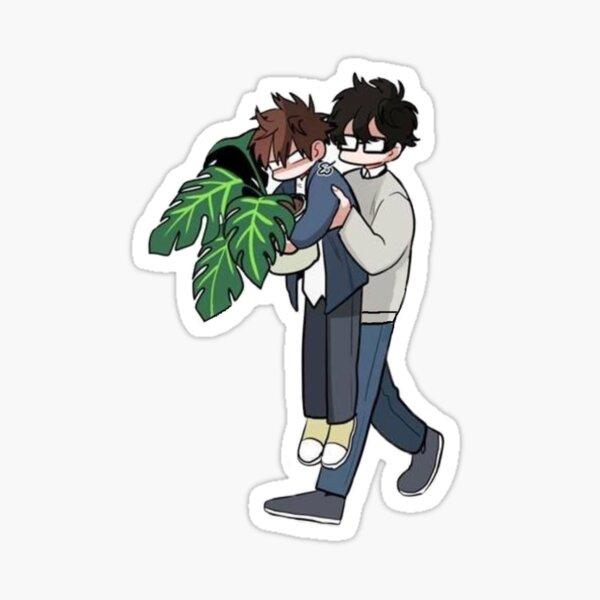 Yohan et Suhwa Sticker