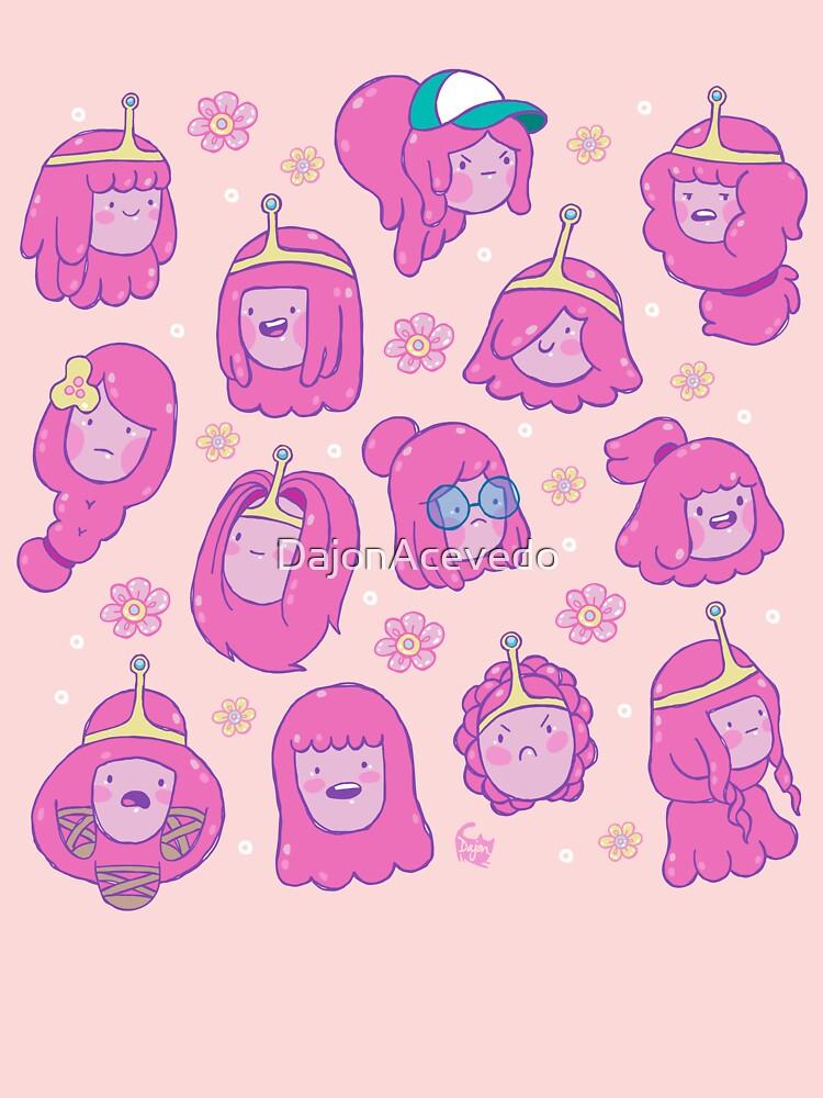 Princess Bubblegum Hair Pattern 2 Adventure Time T Shirt Baby T Shirt By Dajonacevedo Redbubble