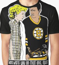 "Happy Gilmore - ""Where were you"" Graphic T-Shirt"