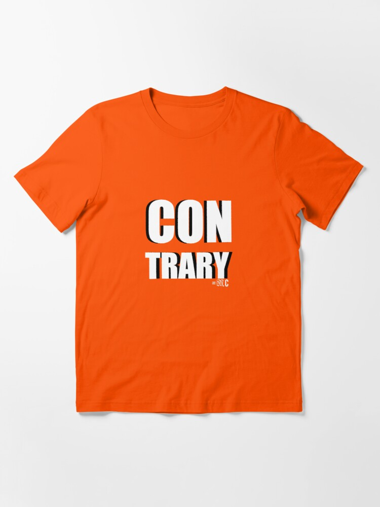 Alternate view of Contrary tee + hoodie Essential T-Shirt