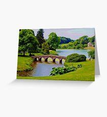 Stourhead Gardens Greeting Card