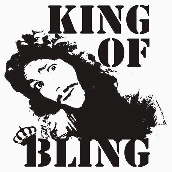 TShirtGifter presents: Charles II - King of Bling
