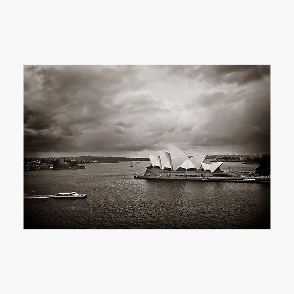 Sydney Opera House in B&W Photographic Print