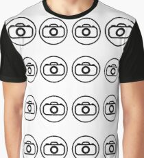 Camera icons Graphic T-Shirt