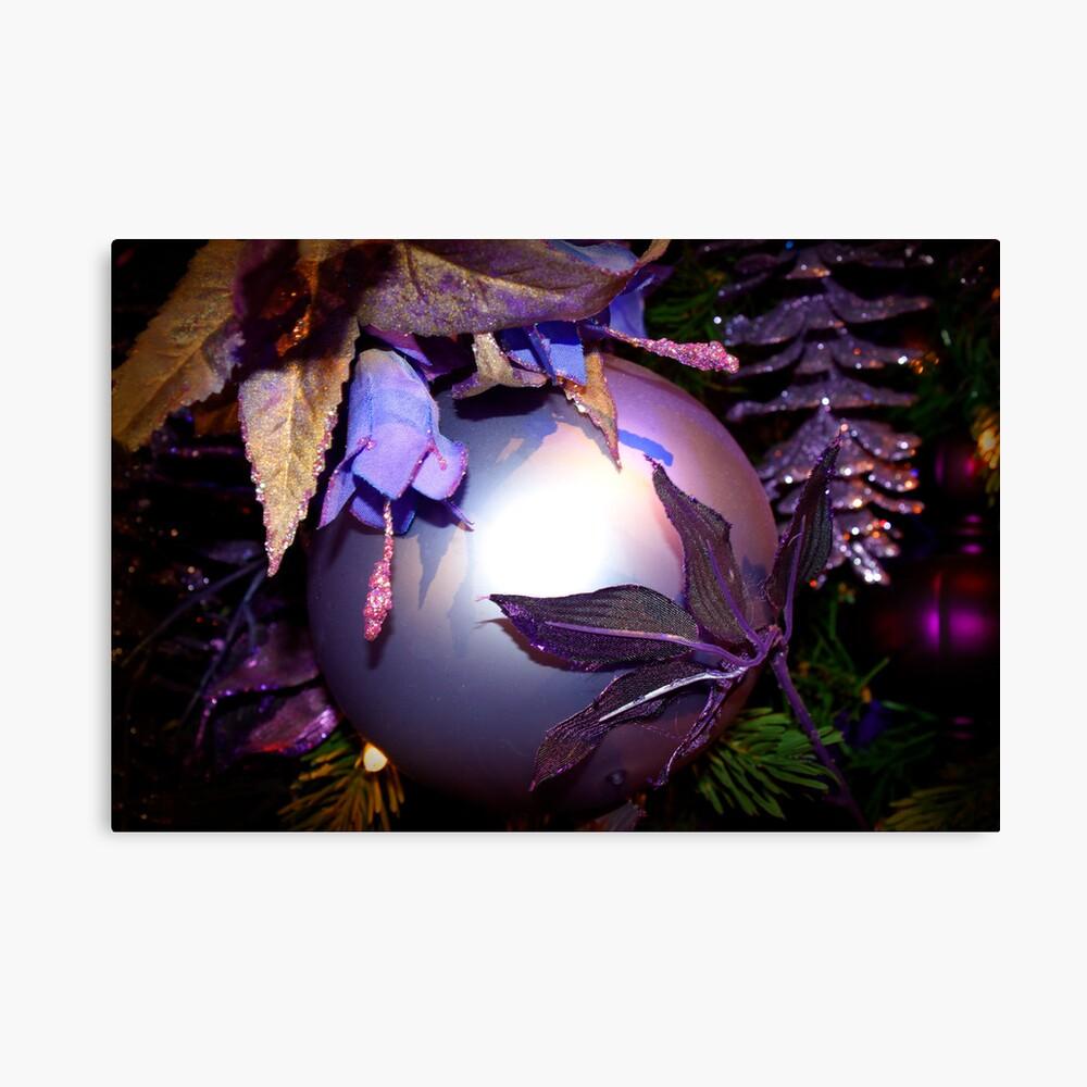 Purple Holiday  Leinwanddruck