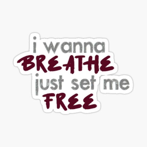 AB6IX Breath lyrics kpop song Sticker