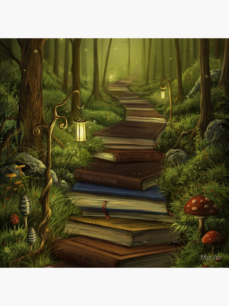 The Reader's Path by MorJer