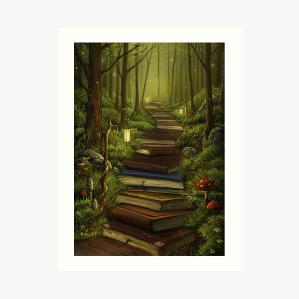 The Reader's Path Art Print