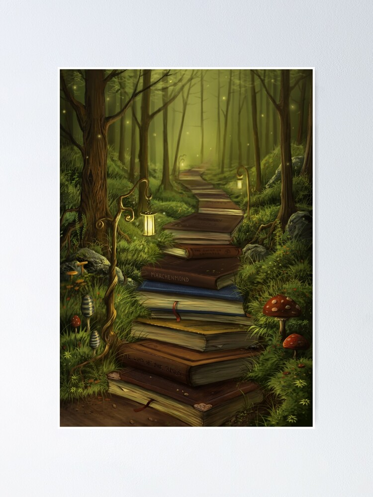 Alternate view of The Reader's Path Poster
