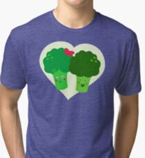 Broccoli in Love Tri-blend T-Shirt