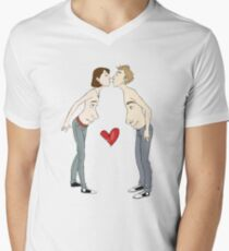 Kissing With Your Eyes Open T-Shirt