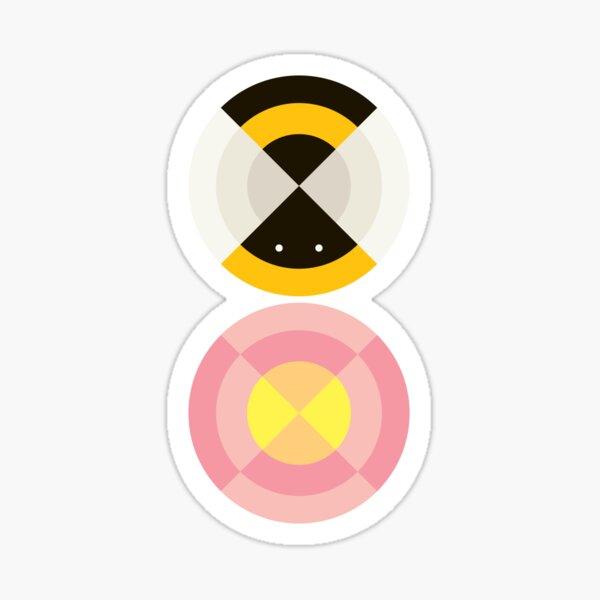 Quadrant Bee Sticker