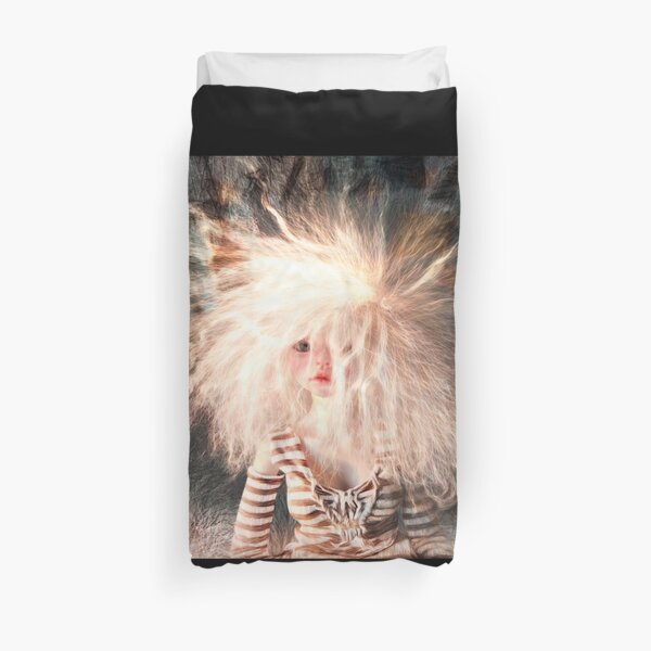A Crazy Thought Duvet Cover