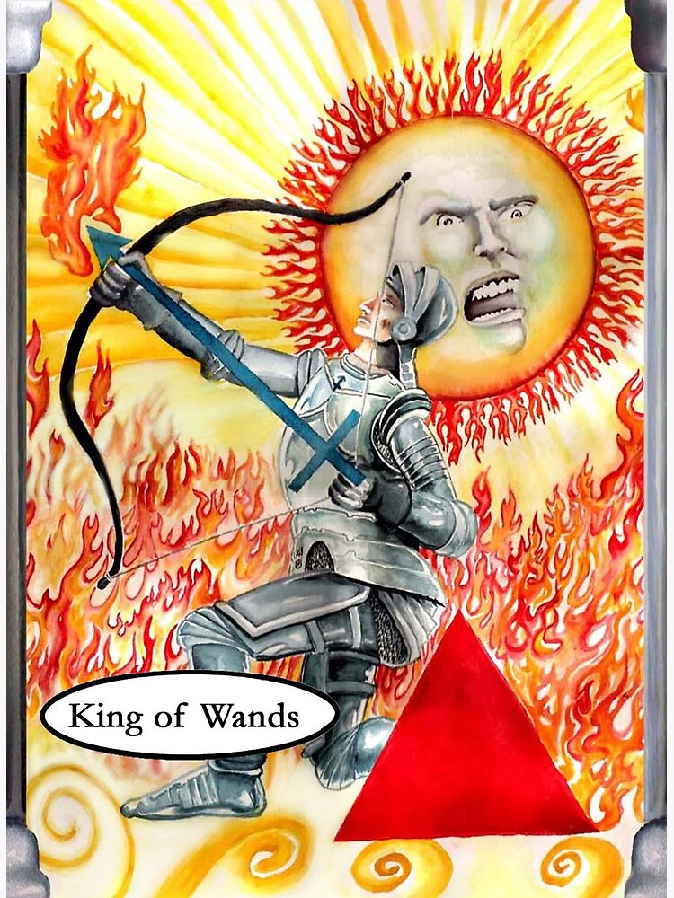 Knight of Wands by dajson