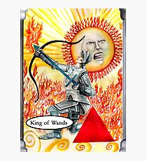 Knight of Wands Photographic Print