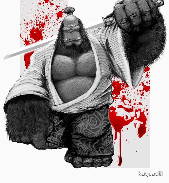GSTATUS: Gorilla Bushido by kagcaoili