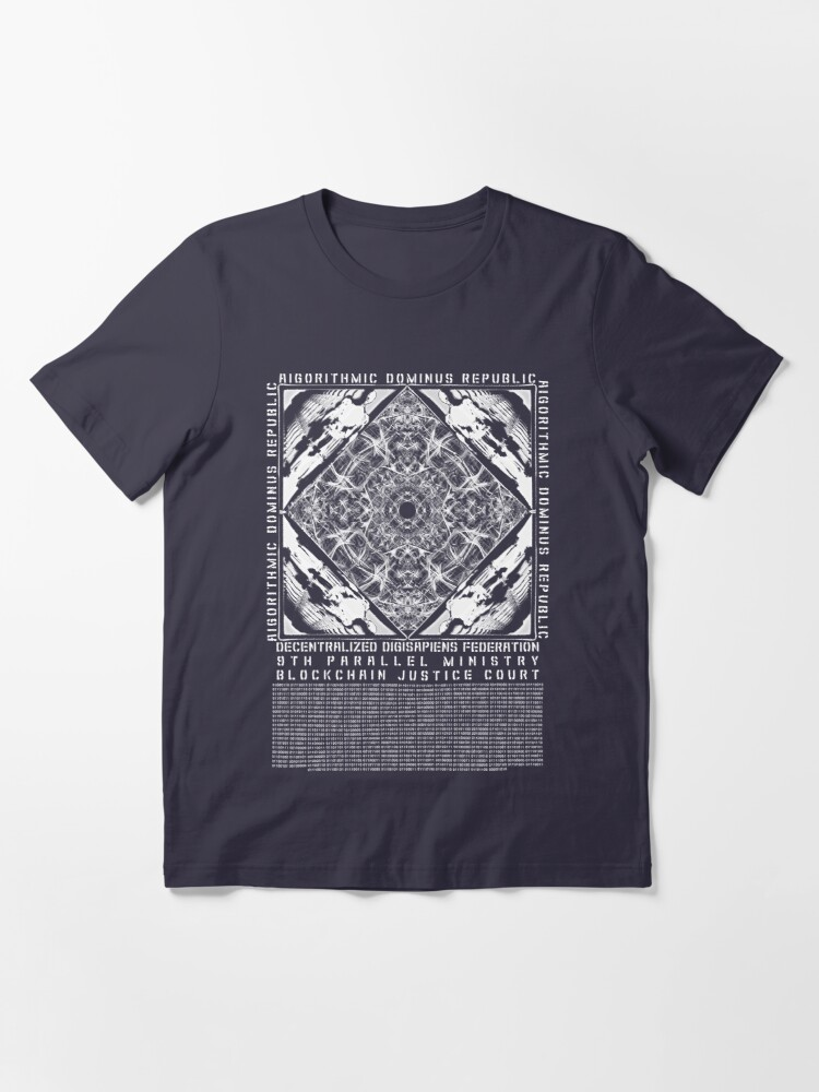 Alternate view of Aigorithmic Dominus Republic Products Essential T-Shirt