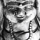 Smiling buddha by gogston