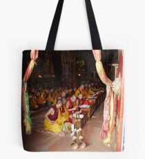 Tibetin Prayer Tote Bag