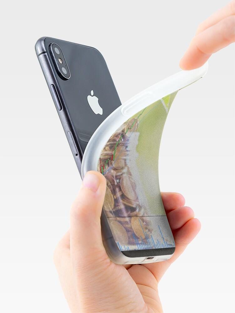 Vista alternativa de Funda y vinilo para iPhone Trading